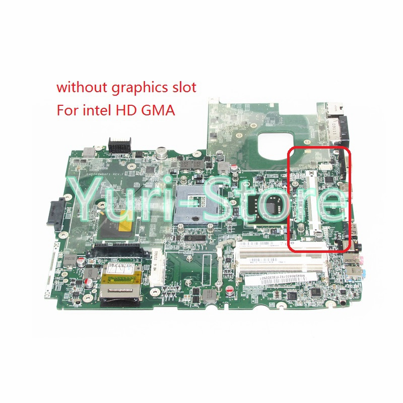 NOKOTION DA0ZK2MB6F1 MBASR06001 MB. aspire 6930 6930g Laptop anakart Için ASR06.001 GM45 DDR2 Intel HD Grafik